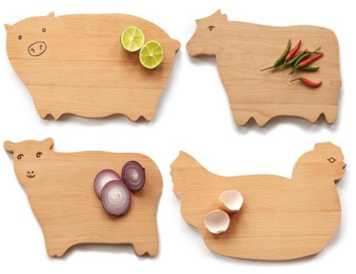 deski kuchenne z drewna