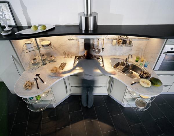 mała kuchnia a potrzeby użytkownika
