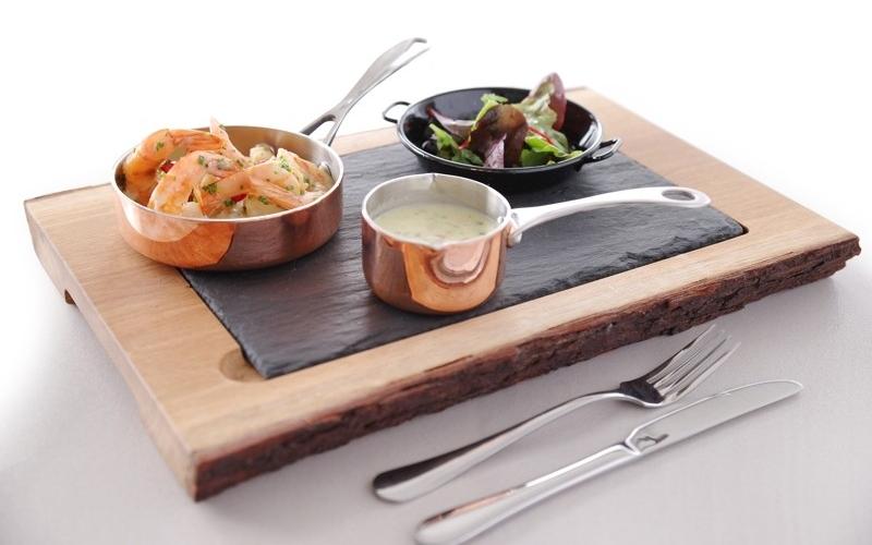 Miniaturowe naczynia do przekąsek z miedzią HENDI