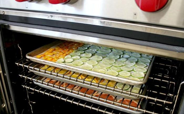 suszenie żywności w piekarniku elektrycznym