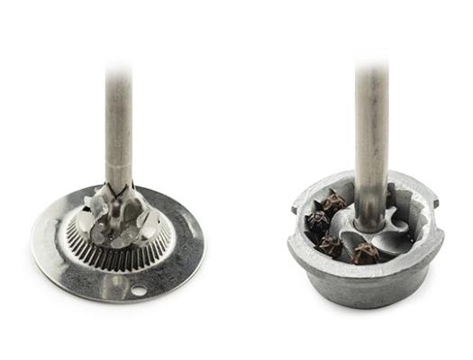 mechanizmy ze stali nierdzewnej do soli i pieprzu Peugeot