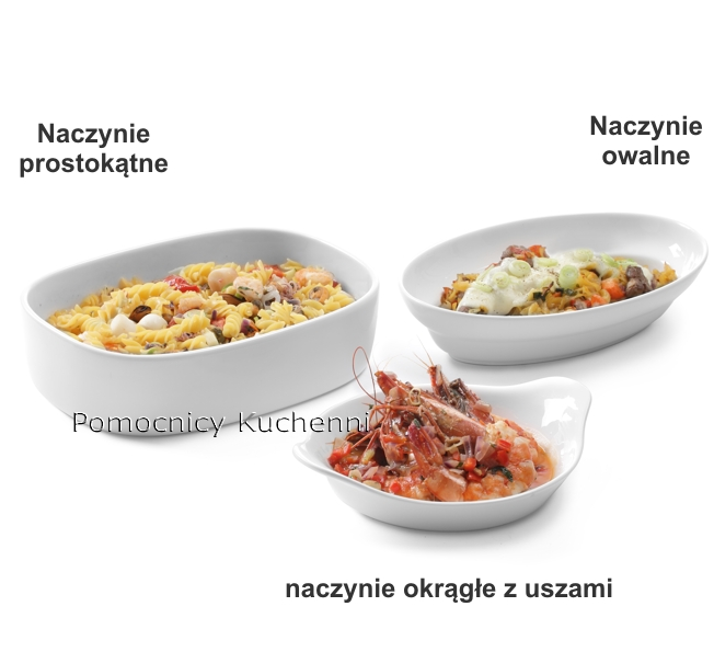 Ceramiczne naczynia do zapiekania HENDI