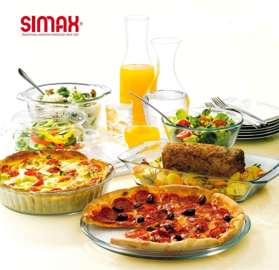 Szklane naczynia do pieczenia SIMAX